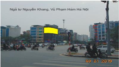 CROSSROADS Nguyen Khang and Vu Pham Ham, Hanoi
